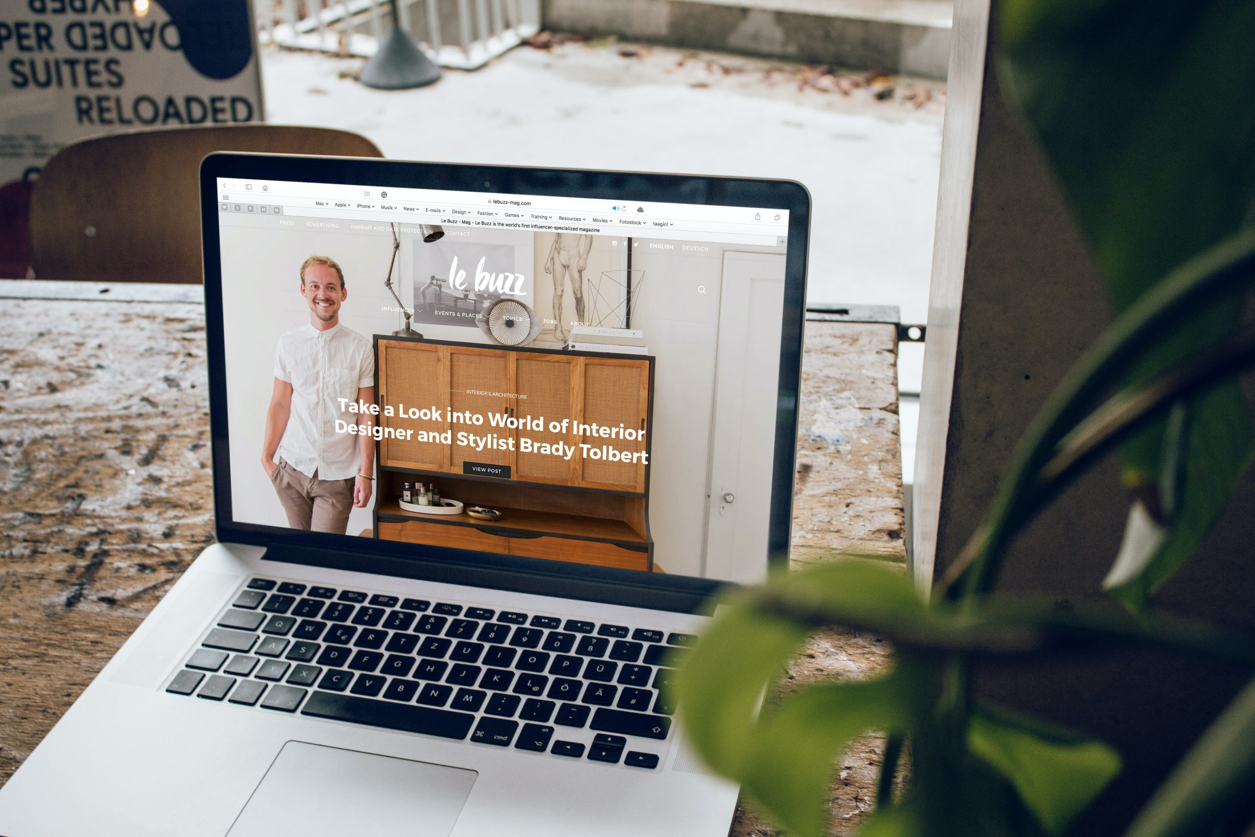 redesigning a website